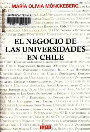 """Résultat de recherche d'images pour """"el negocio de las universidades chilenas"""""""